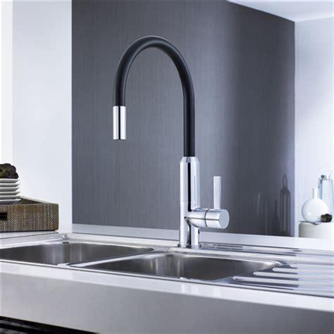 Vanity Sink Set Vixen Retractable Sink Mixer Black