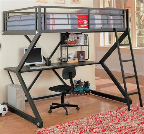 Bunk Bed With Workstation Bunks Workstation Loft Bed Bunk Beds