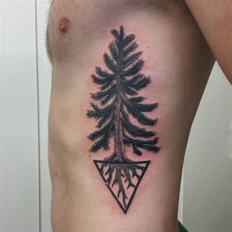 simple tree tattoo designs 75 simple and easy pine tree designs meanings