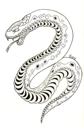 japanese snake tattoo design snake images designs