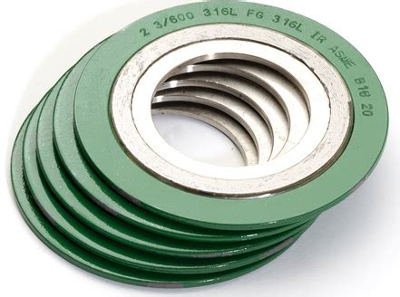 Gasket Spiral Wound spiral wound gaskets gaskets seals and die cut parts