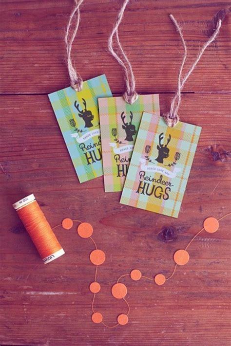 printable reindeer gift tags 11 printable holiday gift tags refresh restyle