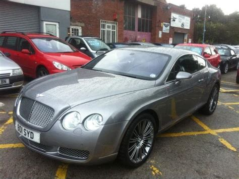 cheap bentley for sale used silver bentley continental 2004 petrol 6 0 w12 2dr
