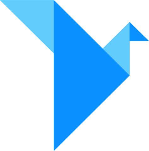 Origami Logo - origami logo transparent png stickpng