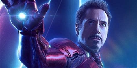 avengers endgame directors sought rdjs blessing iron