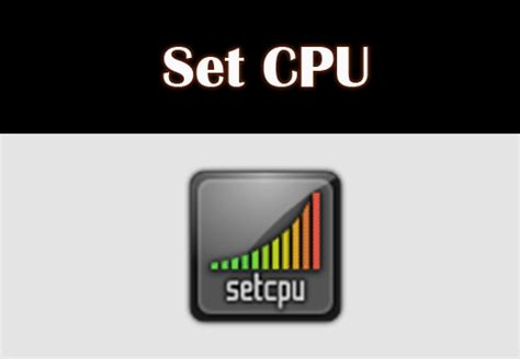 setcpu apk for your cpu setting change best root apps - Set Cpu Apk