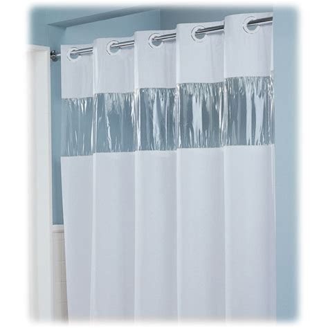 Plastic Shower Curtains Hotel Shower Curtains Lodgmate Vision Pre Hooked Vinyl Curtain 8 Ga 71x74