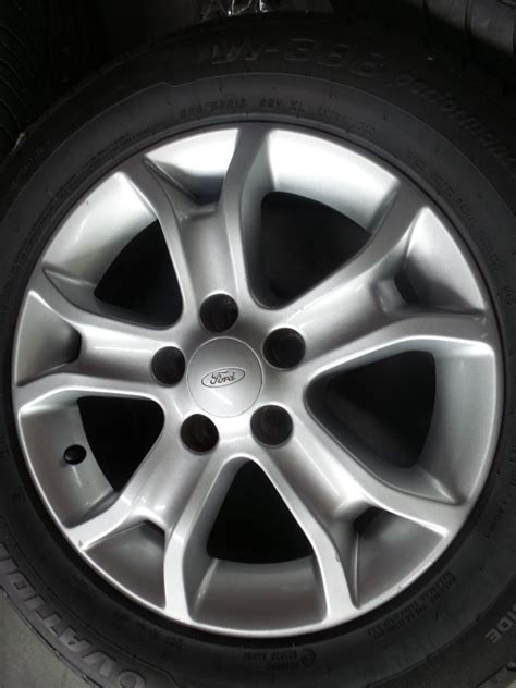 K 46 Wheels Sling White 2008 ford falcon fg au ba bf genuine 16 quot alloy mag wheels tyres