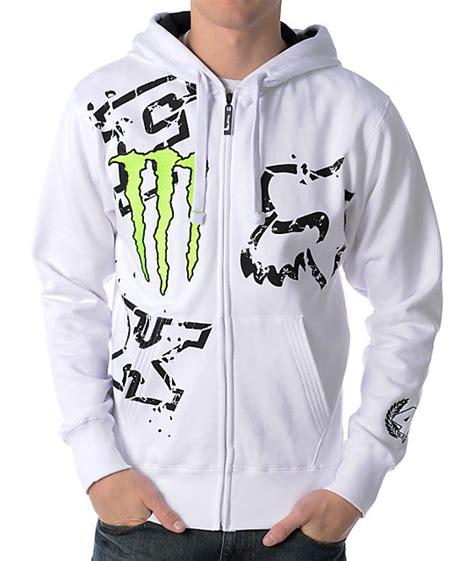 Fox Applique Print Hoodie fox x ricky carmichael downfall white hoodie zumiez