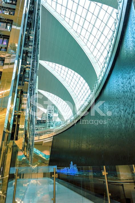 airport design editor exclude water elevators water wall fountain reflection aeroport dubai