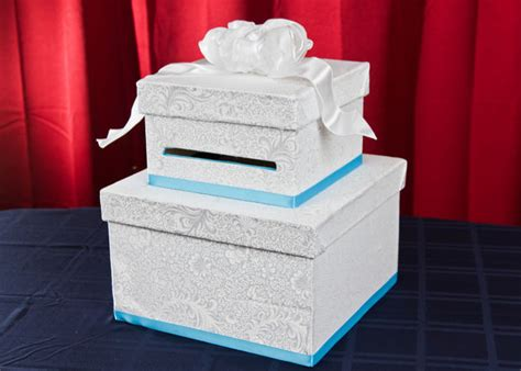 how to make a wedding card box 11 diy wedding card boxes you can easily make weddingomania