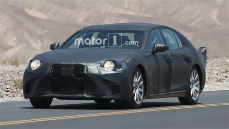 Next Lexus Ls by Next Lexus Ls Wears Fins While Testing