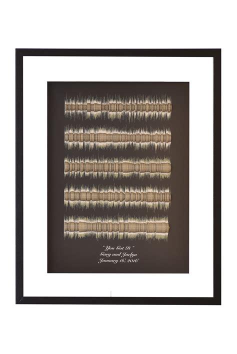 Silver Wedding Anniversary Songs Lyrics by Buy A Custom Made Song Lyrics 3d Sound Wave Wedding