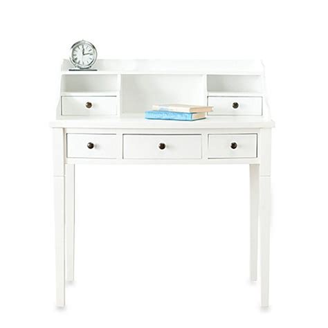 Buy Safavieh Landon Writing Desk In White From Bed Bath