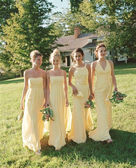 light yellow bridesmaid dresses 125 best yellow grey wedding images on pinterest gray