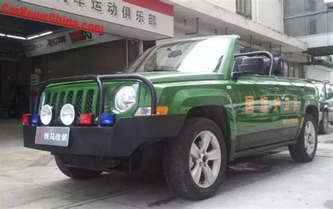 parade jeep photos of the jeep patriot parade car project in china