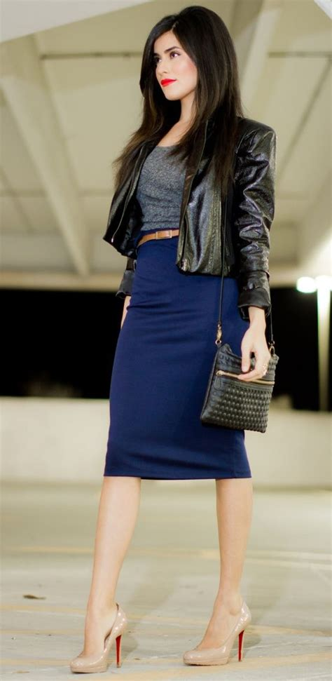 best 25 blue pencil skirts ideas on up skirts