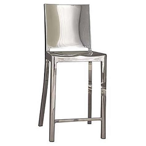 hudson bar stools emeco starck hudson bar counter stool polished aluminum ebay