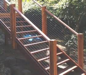 Metal Garden Handrails All Day Fencing Stainless Steel Wire Balustrades And