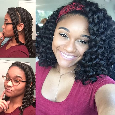 Flat Twist Out Hairstyles For Hair by Hair Flat Twist Out Tutorial