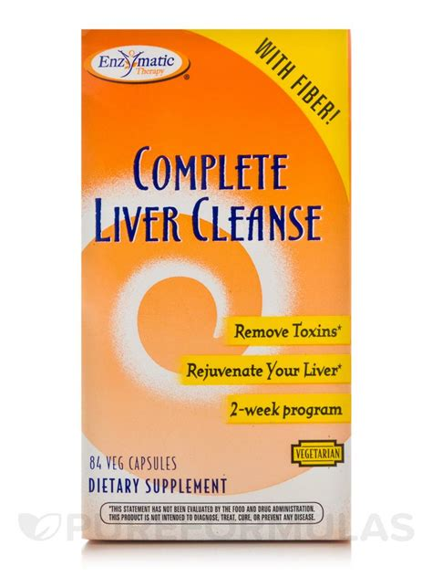 Complete Detox by Complete Liver Cleanse 84 Vegetable Capsules