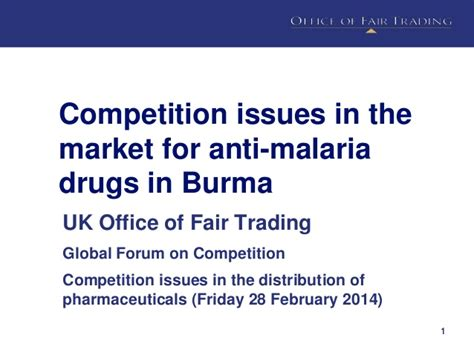 competition 2014 uk competition and pharmaceuticals uk office of fair