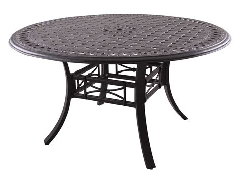 round outdoor dining table darlee outdoor living series 88 cast aluminum antique
