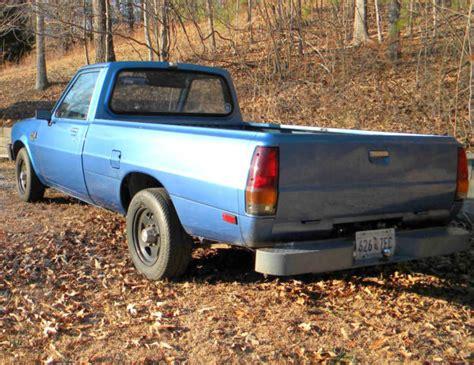 1985 Dodge Ram D50 Diesel Pickup Truck Mitsubishi W Turbo