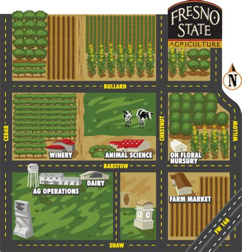 fresno state cus map farm laboratory