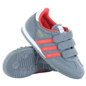 adidas g95073 cf boys grey athletic casual shoes sneakers velcro ebay