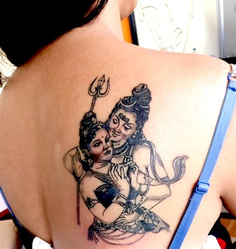 nepali tattoo new of poojana paradha shiva parvati