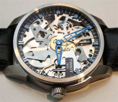 Modern Looking Houses Tissot T Complications Squelette Modern Skeletonized Watch
