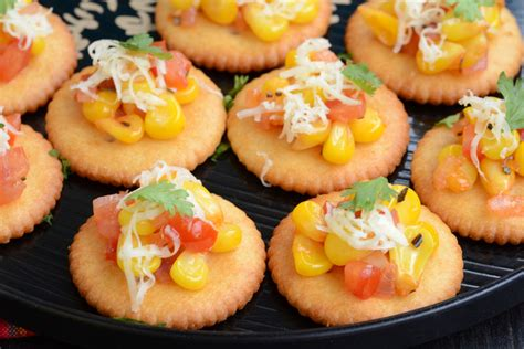 canap駸 recipe biscuit canapes my india