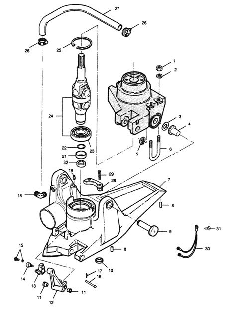 force  hp   drive  joint housing parts