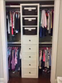 Small Wardrobe Closet 25 Best Ideas About Small Closet Organization On