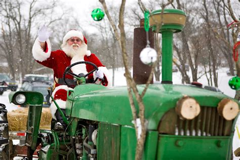 christmas on the farm traders point creamery