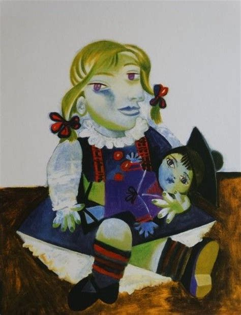 picasso paintings with doll pablo picasso after and doll catawiki