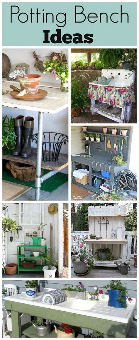 inexpensive potting bench 1000 images about house of hawthornes blog on pinterest