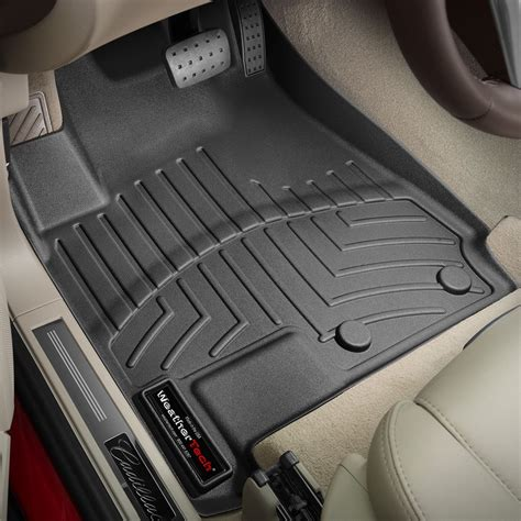 weathertech 174 445211 digitalfit 1st row black molded floor liners