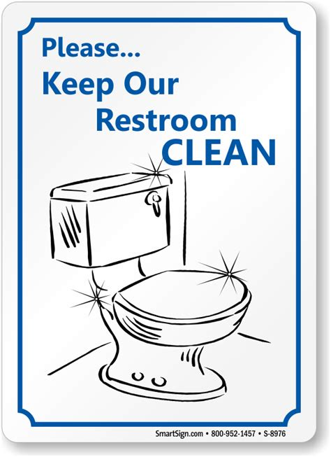keep bathroom clean office courtesy signs office etiquette signs