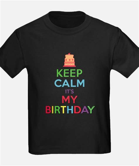 Tshirt It S My its my birthday kid s clothing its my birthday kid s