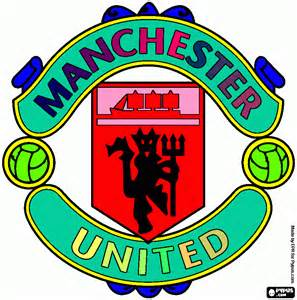 man utd coloring page printable man utd