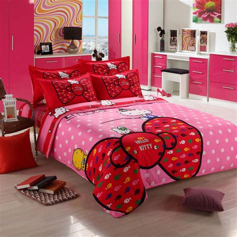 3 4pcs hello kitty bedding sets comforter set duvet cover