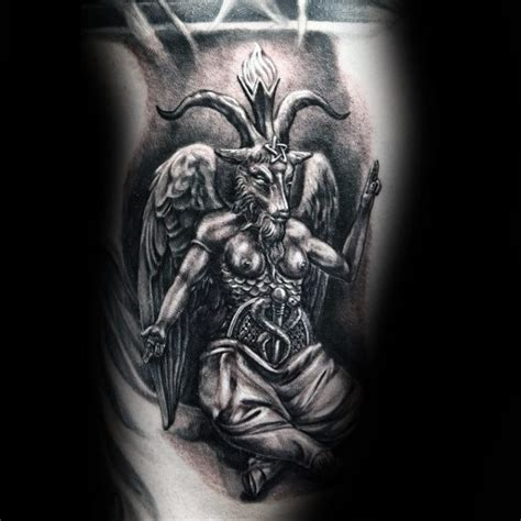 baphomet drawing tattoo www pixshark com images