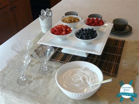 yogurt bar toppings the perfect breakfast treat when you don t want to serve