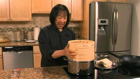 Helen S Asian Kitchen Helen Chen Episode 2 Bamboo Steamer Demo Helen S Asian