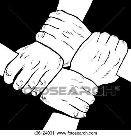 Clipart Amicizia Clipart Nero Bianco Solidariet 224 Amicizia
