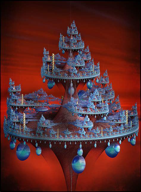 futuristic christmas tree  godino  deviantart