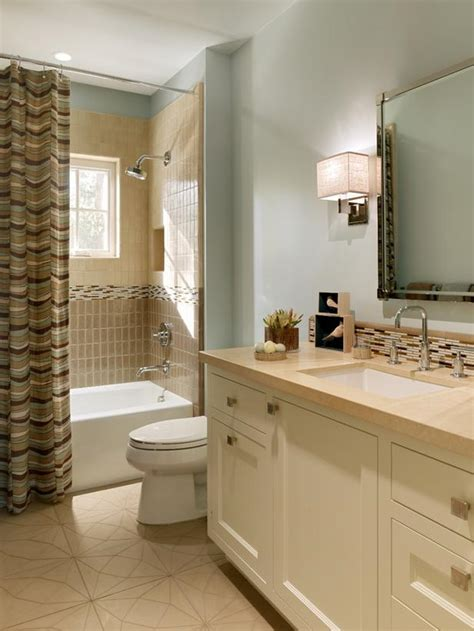 pale blue bathrooms pale blue bathroom with tiled backsplash and shower hgtv