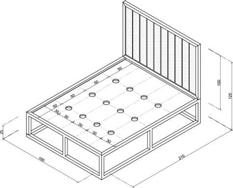 cuanto mide un sofa cama de dos plazas h 225 galo usted mismo 191 c 243 mo hacer una cama de acero